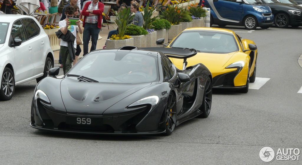 jenson buttons new mclaren p1 spotted in monaco
